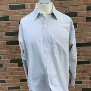Brooks Brothers White Long Sleeve Button Up Oxford